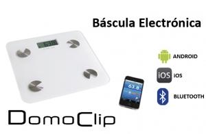 Báscula de Baño Electrónica Bluetooth