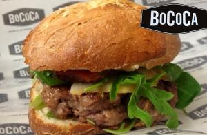 Menú completo de hamburguesa para 2, en Bococa
