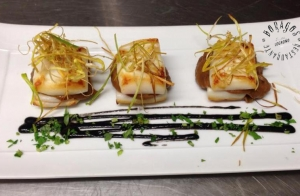 Menú degustación en Restaurante Boragos