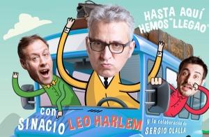Leo Harlem:  Hasta aquí hemos 'llegao'. Patio de Butacas